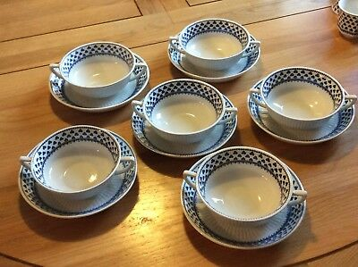 Adams Ironstone Brentwood Soup Cups