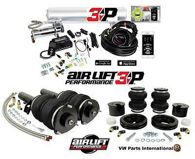 Vw Polo 9n 6r 6c Air Lift Performance Slam Series Strut Kit With 3p Management