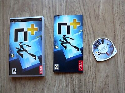 N+ (N Plus) - Sony PSP - Excellent Condition