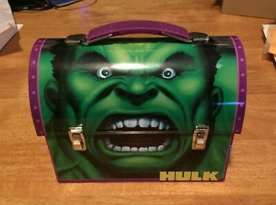 Offiical THE HULK Movie (2003) Mailbox-Style Tin Lunchbox (Used)