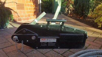 ACE Wire rope hoist winch with 20 metre rope – 3200kg - good condition