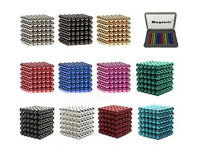 Magnesis® Neodymium Strong Magnet Beads Cube Balls Magnetic Ball Construction