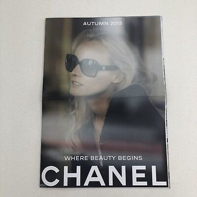 CHANEL Collectors Edition Where Beauty Begins Magazine Autumn 2013 (16 page)