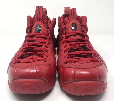 "4c51aeb8bf1 Nike Air Foamposite Pro ""Red October"" Size 10.5 GYM RED BLACK 624041-603"