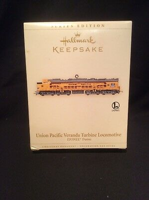 Hallmark  Keepsake 2006 Ornament Union Pacific Veranda Turbine Locomotive NEW