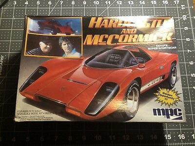 MPC Model Kit Hardcastle And McCormick Mint Sealed