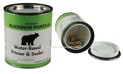 Quart Paint Diversion Hidden Safe Secret Stash Box Home Security Container
