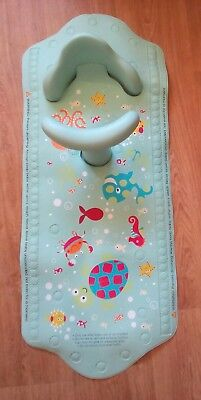 Mothercare Baby's Aqua Pod bath mat with back support seat