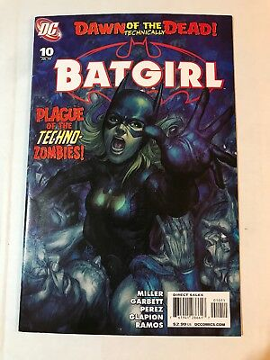 Batgirl #10 (2010) Artgerm Stanley Lau Cover VF Combined Shipping Available