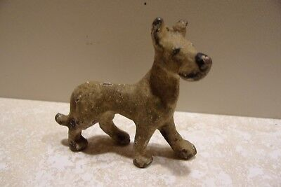 Vintage Cast Iron Toy Dog Great Dane VERY OLD