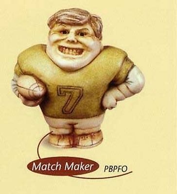 Harmony Kingdom Pot Belly - Match Maker-Football