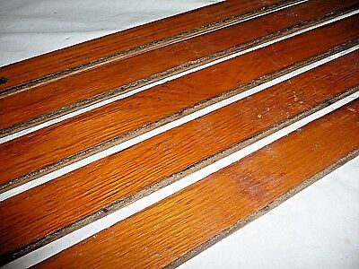 """Antique 1 1/2"""" Oak Flooring - C. 1890 Tongue and Groove Architectural Salvage"""