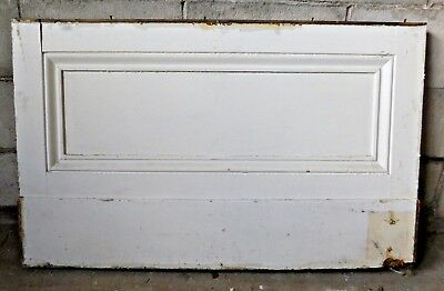 Antique Italianate Wall Wainscot Panel - C. 1860 Fir Architectural Salvage