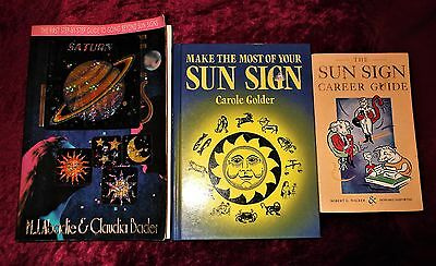 """L@@k!""""new Age"""" """"sun Signs""""  Book Lot- Bj45"""