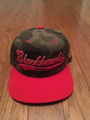 LOT - 2 NHL HATS - MEN (New) Chicago Blackhawks - Mitchell & Ness - Cap Snapback
