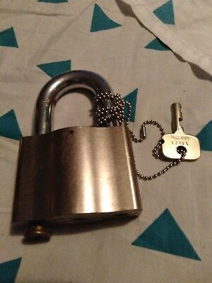 Sargent and Greenleaf Security lock with key.
