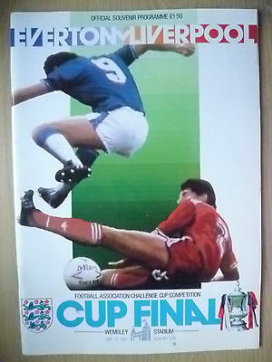 1986 FA Cup FINAL Programme- EVERTON v LIVERPOOL (Exc,Genuine*)