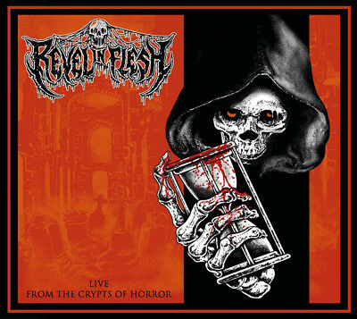 REVEL IN FLESH - live from the crypts of horror CD