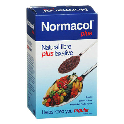 Normacol Plus 500G Granules Natural Fibre Plus Laxative Helps Keep You Regular