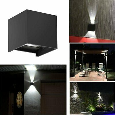 Modern LED Wall Light waterproof Outdoor Wall Sconce Up/Down Lamp Exterior Light