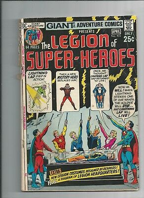 Adventure Comics #403  Giant Size  The Legion Of Super-Heroes Very Good Cond