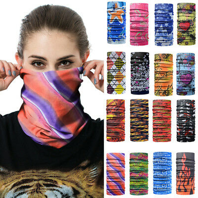 KD_ Fashion Women Outdoors Stretched Neck Gaiter Skiing Bike Half Face Mask Un