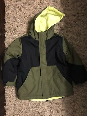 a1d5ebe60 BOYS 3 IN 1 CHILDREN S PLACE Winter Coat Ski Jacket Size 3T 4T liner ...