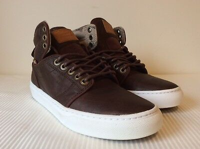 2a286d4e987fc7 Vans Alomar Duck Hunt Brown White Sneakers VN-ONNBGPX New W Box DS Men s