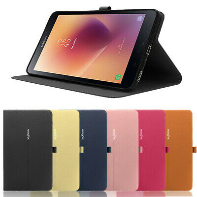 "Folio Case for Galaxy Tab A 8.0""SM-T387/T380/T385,Slim Smart Stand Magnet Cover"