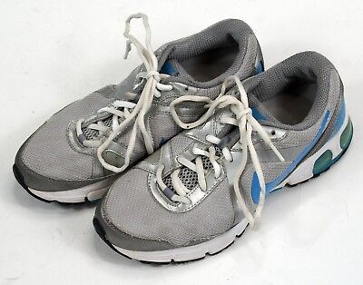 1fe8019a7e5f07 NIKE AIR MAX Fly Wire Women s Running Shoes White   Blue US 8 EU 39 ...