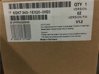 Siemens 6Gk7343-1Ex20-0Xe0 6Gk7 343-1Ex20-0Xe0 New In Box 1Pcs