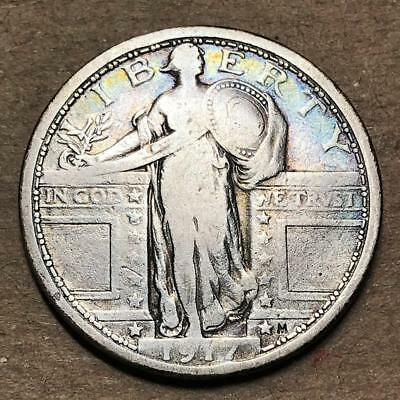 1917   Type 1 Standing Liberty Quarter   No Reserve Auction #8652