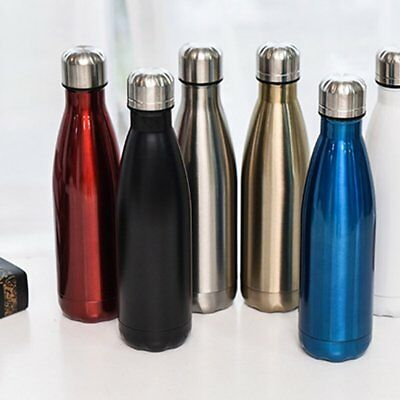 Portable Outdoor Stainless Steel Travel Water Bottle Vacuum Sealed Insulated Cup