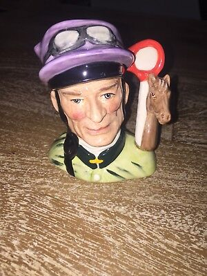 Super Royal Doulton Toby Jug Character Jug The Jockey D6877