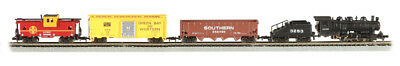 Bachmann - Yard Boss Train Set -- Santa Fe - N