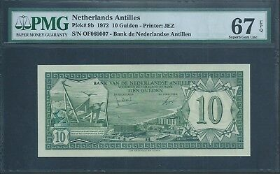 NETHERLANDS ANTILLES BANKNOTES MINT NEW UNC * TOP SET OF TWO
