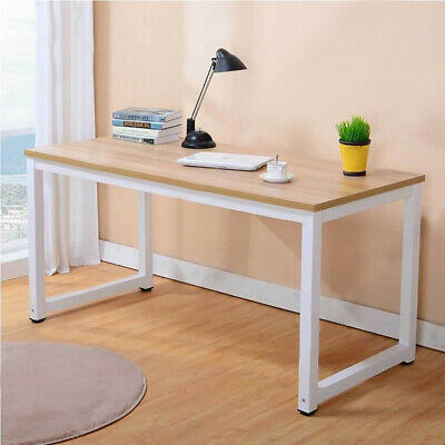 Wood Computer Desk PC Laptop Writing Table Workstation Home Office Furniture New