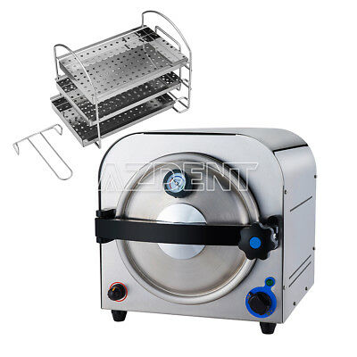14 L Dental Autoclave Steam Sterilizer Medical Dampfsterilisator Distilled Water
