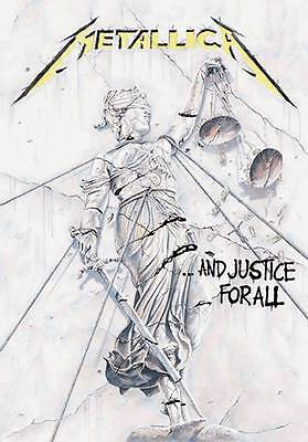 Metallica justice for all Textile Poster Flag
