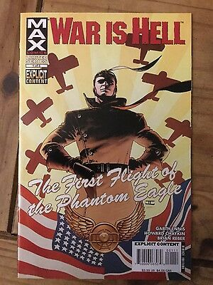 WAR IS HELL: the first flight of the phantom eagle, Garth Ennis & Howard Chaykin