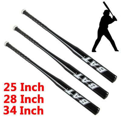 "Aluminum Metal Alloy Baseball Bat Racket Softball Outdoor Sports 25""/28""/34"""