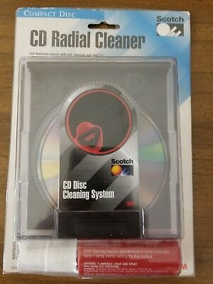 Scotch CD Radial Cleaner