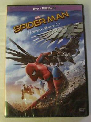 DVD SPIDER-MAN HOMECOMING - Tom HOLLAND / Michael KEATON - NEUF