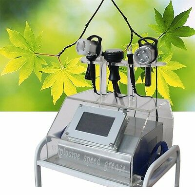 5in1 Ultrasound Cellulite Removal Weight Loss Machine Cavitation Vacuum RF Laser