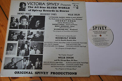 Victoria Spivey / The All Star Blues World of..  (LP- 1011)