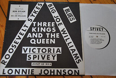 Victoria Spivey / Three Kings and the Queen (LP- 1004)