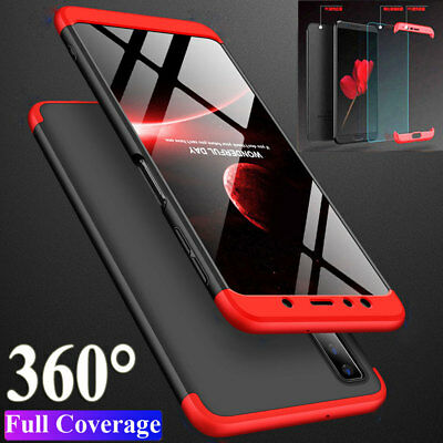 360° Full Protective Armor Case Cover+Film for Samsung Galaxy A7 2018/J4 J6 Plus