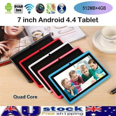 7'' inch Google Android 4.4 WiFi Tablet PC Quad Core 4GB Dual Camera Kids Child