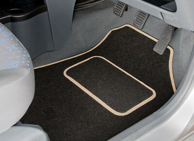 Rover 400 (1995 To 1999) Tailored Car Mats With Beige Trim [1248]