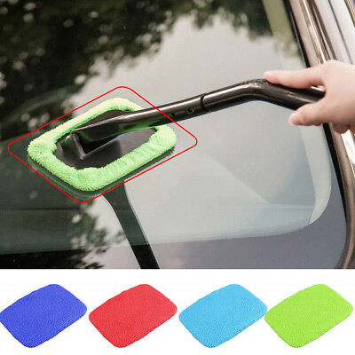 1*Washable Handy Windshield Wonder Auto Car Window Glass Wiper Cleaner Tool yu8